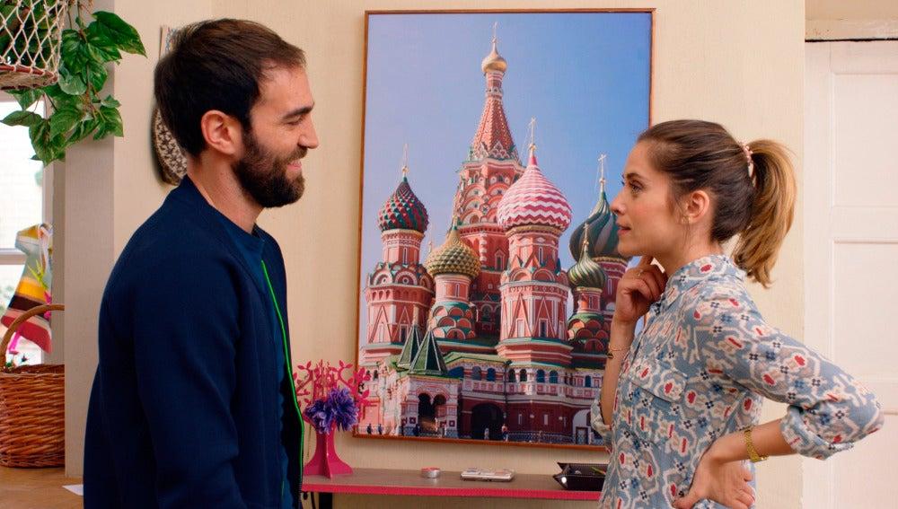 El piso de Iñaki y Carmen, un nidito de amor a lo ruso