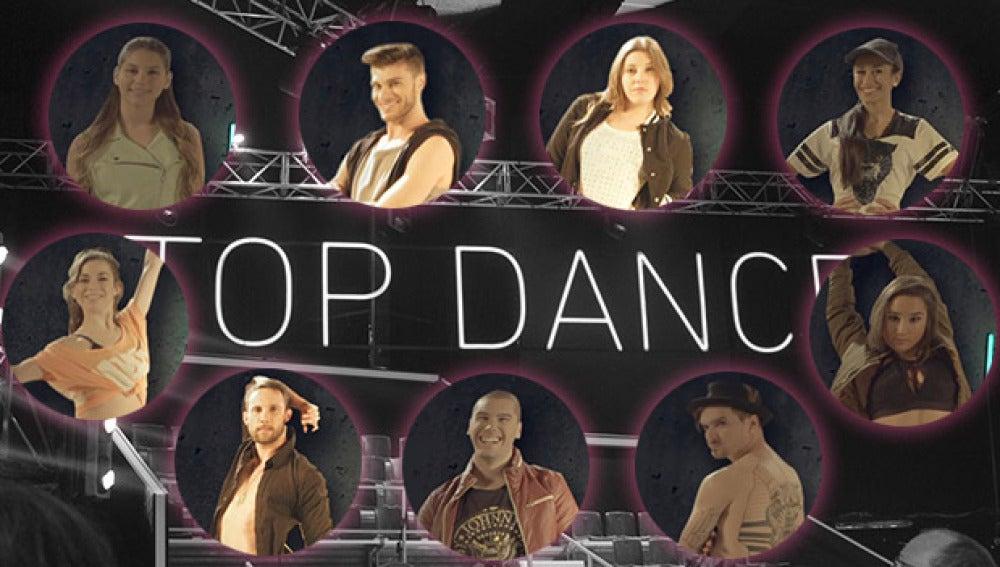 Primeros concursantes de 'Top Dance'