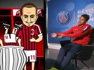 Thiago cuenta la anécdota entre 'Ibra' y Gattuso