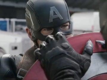 Capitán América vs Pantera negra