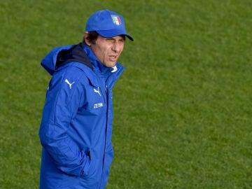 Antonio Conte, seleccionador de Italia