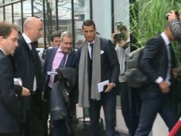 Llegada del Real Madrid
