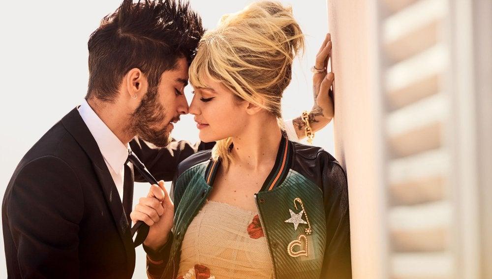 Zayn Malik y Gigi Hadid para Vogue