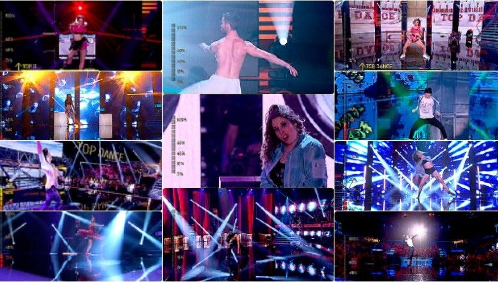 Los mejores GIFs de la primera Gala Casting de 'Top Dance'