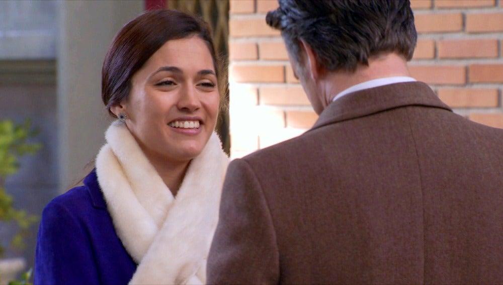 Sofía se pone muy contenta