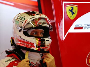Vettel, en el GP de Australia