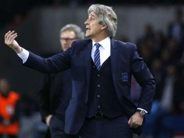Manuel Pellegrini, técnico del Manchester City