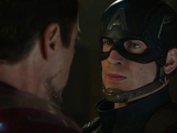 Iron Man y Capitán América