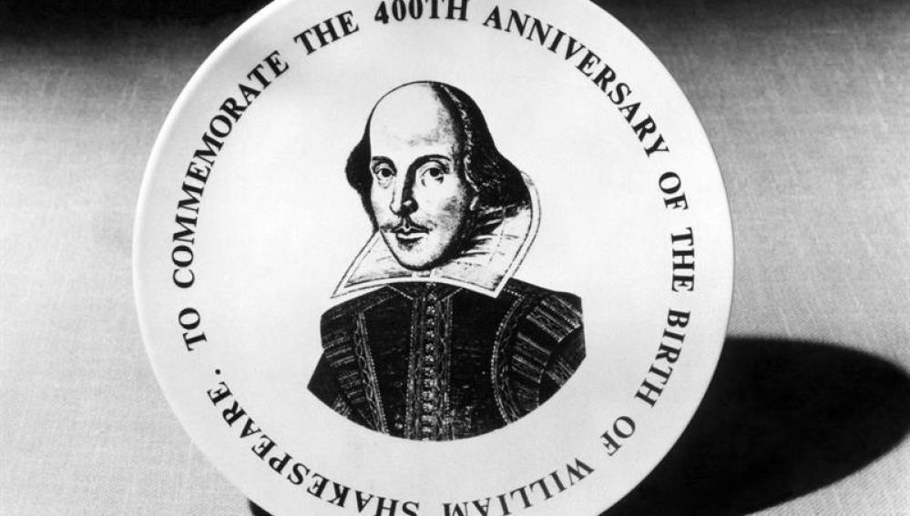 Medalla conmemorativa del IV Centenario del dramaturgo británico William Shakespeare