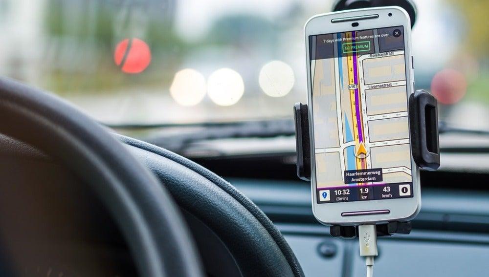 GPS en el coche
