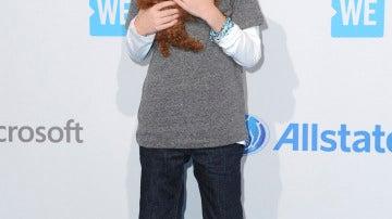 Jacob Tremblay y su perrito