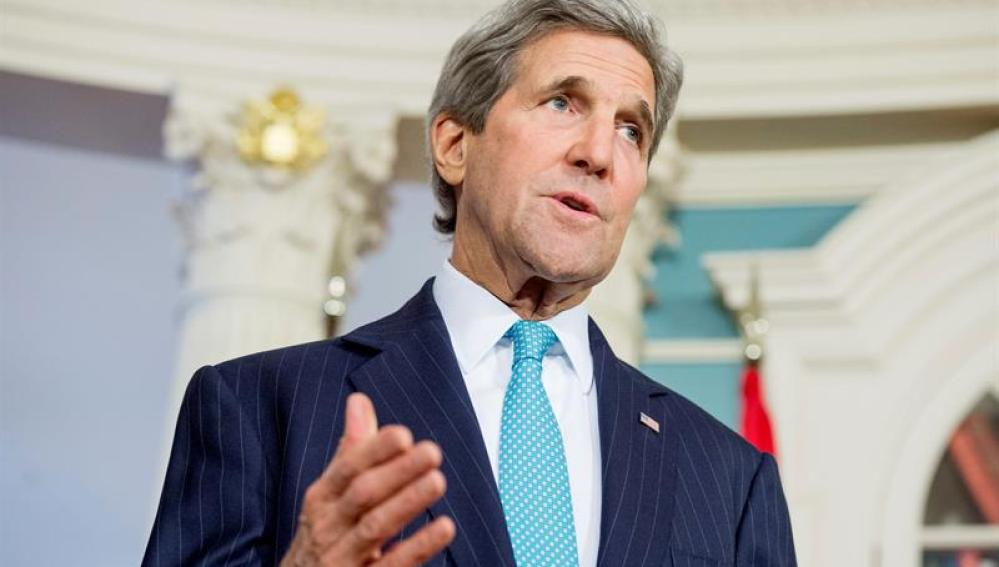 El secretario de Estado de EEUU, John Kerry