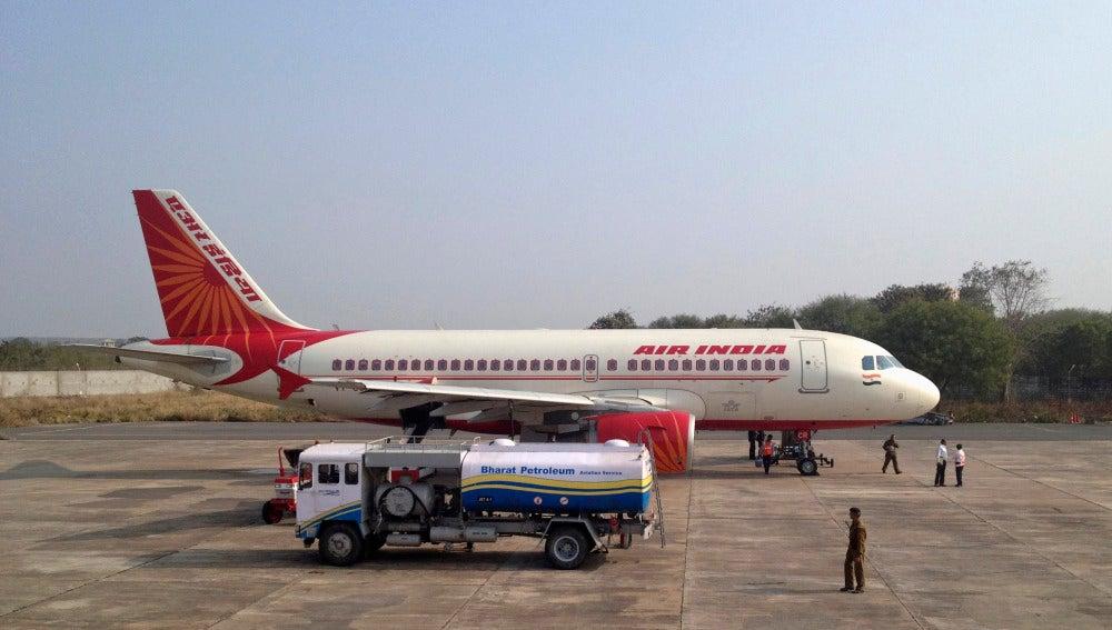 Un avión de la compañía Air India