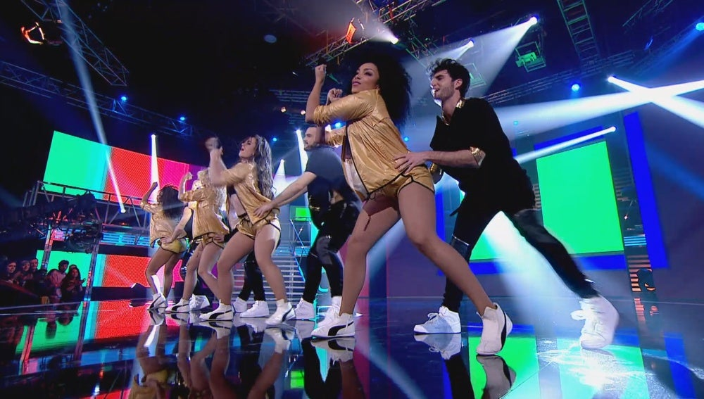 El cuerpo de baile de 'Top Dance'