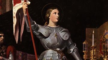 Retrato de Juana de Arco