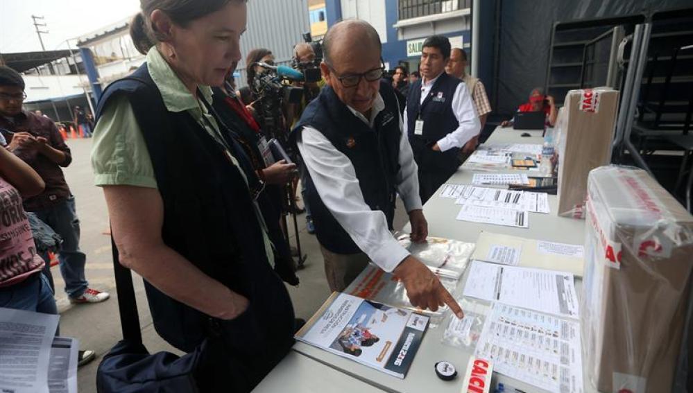 Elecciones presidenciales de Perú