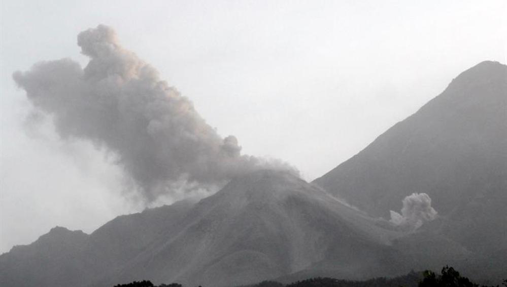 El volcán Santiaguito