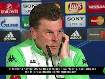 Frame 49.14439 de: El Wolfsburgo no teme al ambiente del Bernabéu