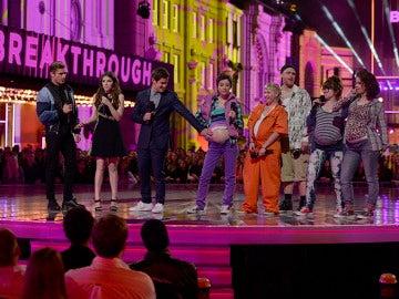 Un momento de la gala de los MTV Movie Awards