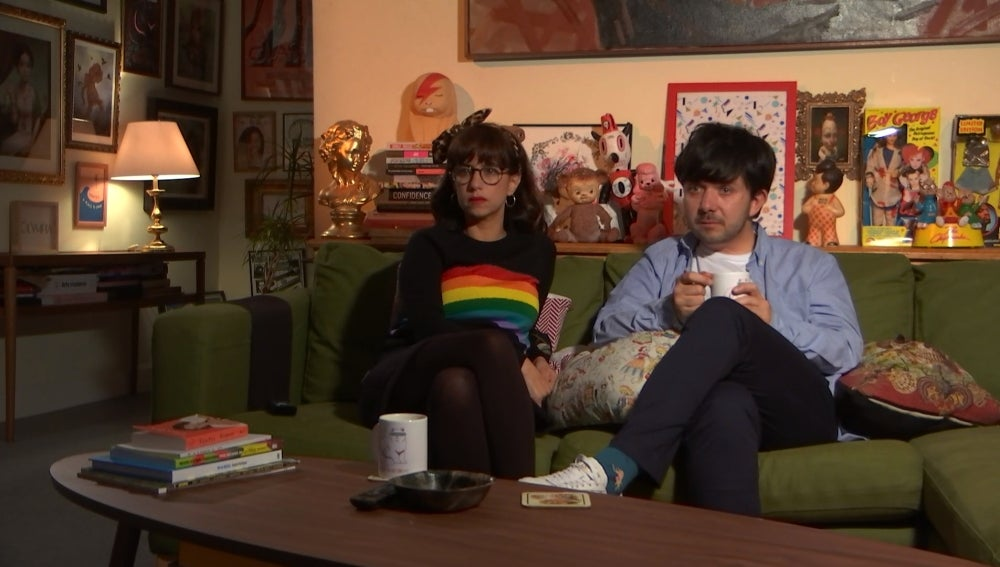 Natalia y Borja en 'Aquí mando yo'