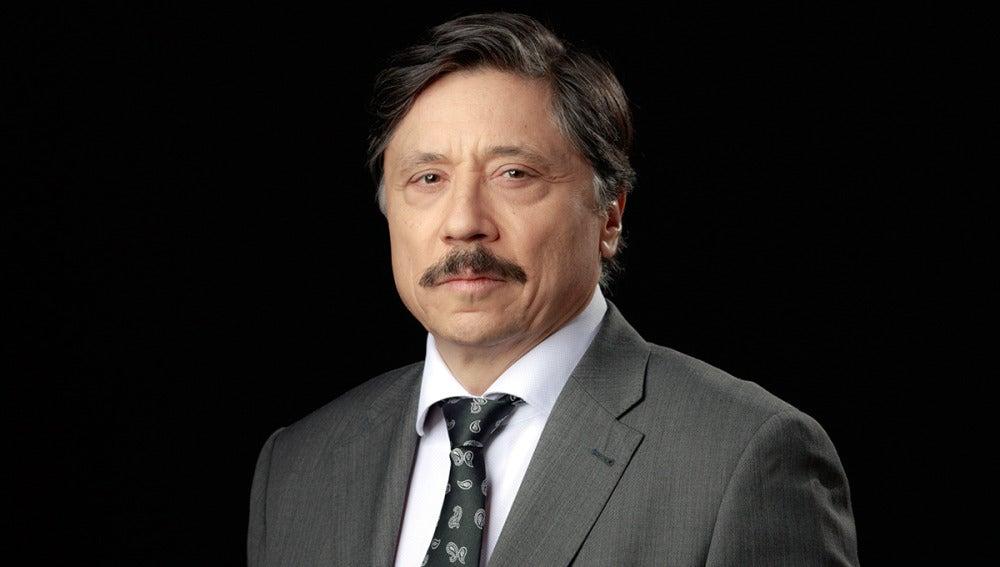 Carlos Bardem es Paco Cadenas, empresario español