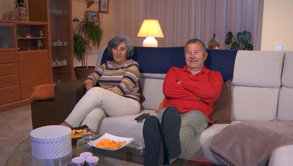 Mari Carmen y José Antonio en 'Aquí mando yo'