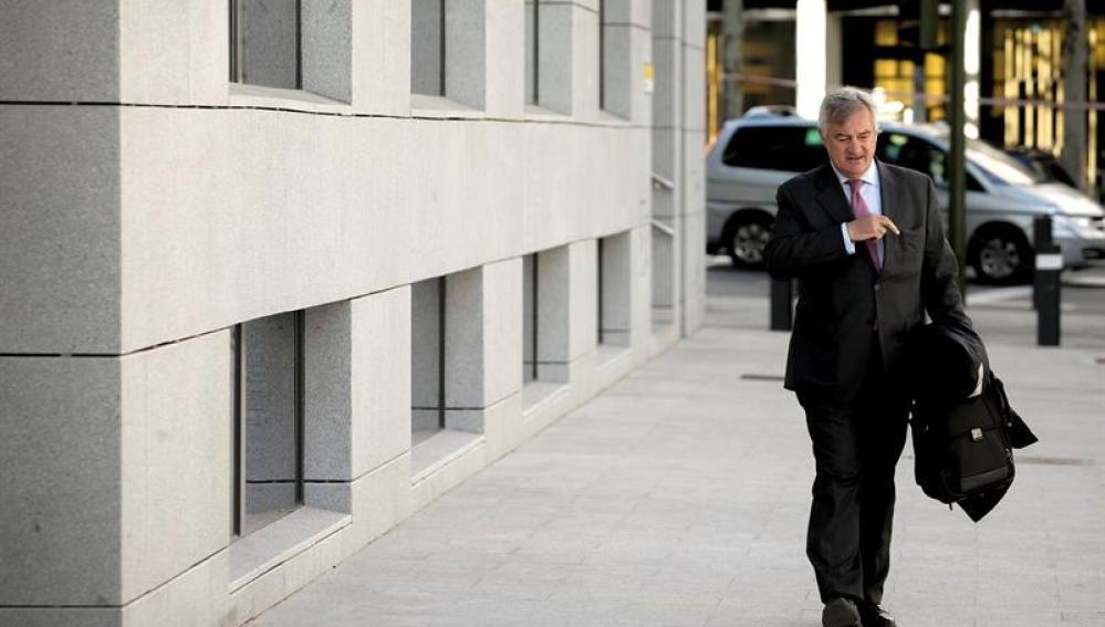 El abogado de Mario Conde, Ignacio Peláez