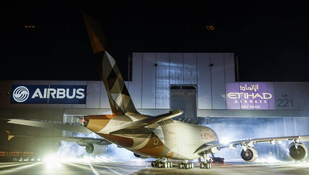 Un Airbus de Etihad Airways