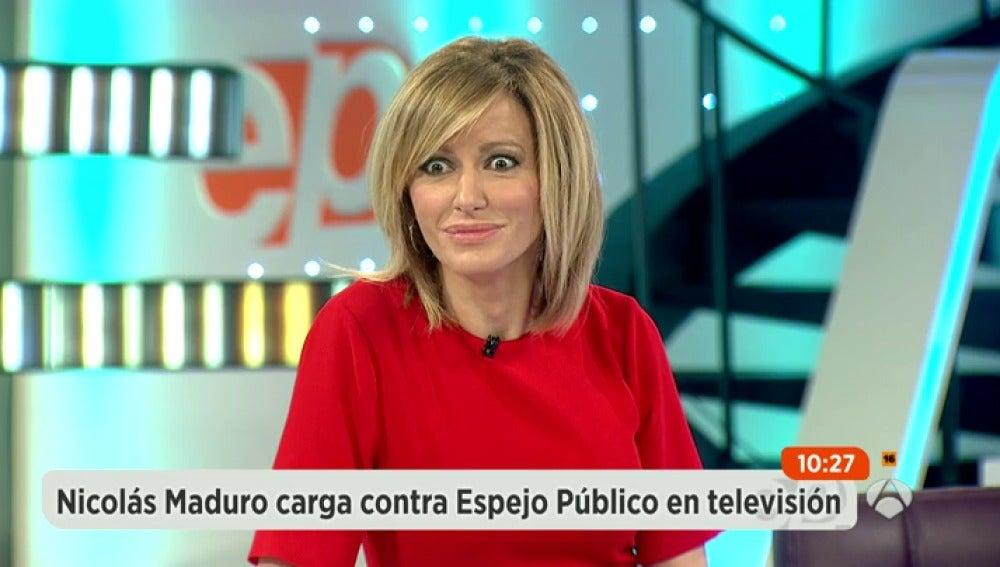 Antena 3 tv susanna griso sorprendida tras las ltimas for Espejo publico hoy completo