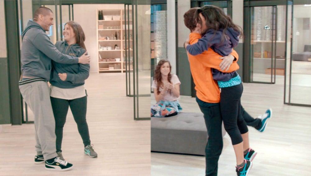 Laura y Alejandro competirán contra Eva y Seven