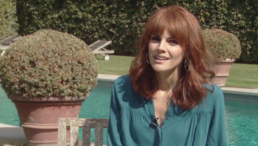 Amaia Salamanca en 'La Embajada'