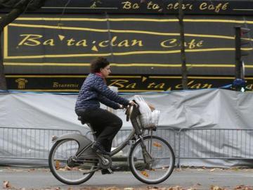 Fachada de la Sala Bataclan en París