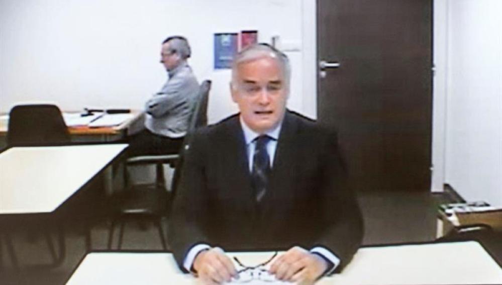 Esteban González Pons durante su declaración