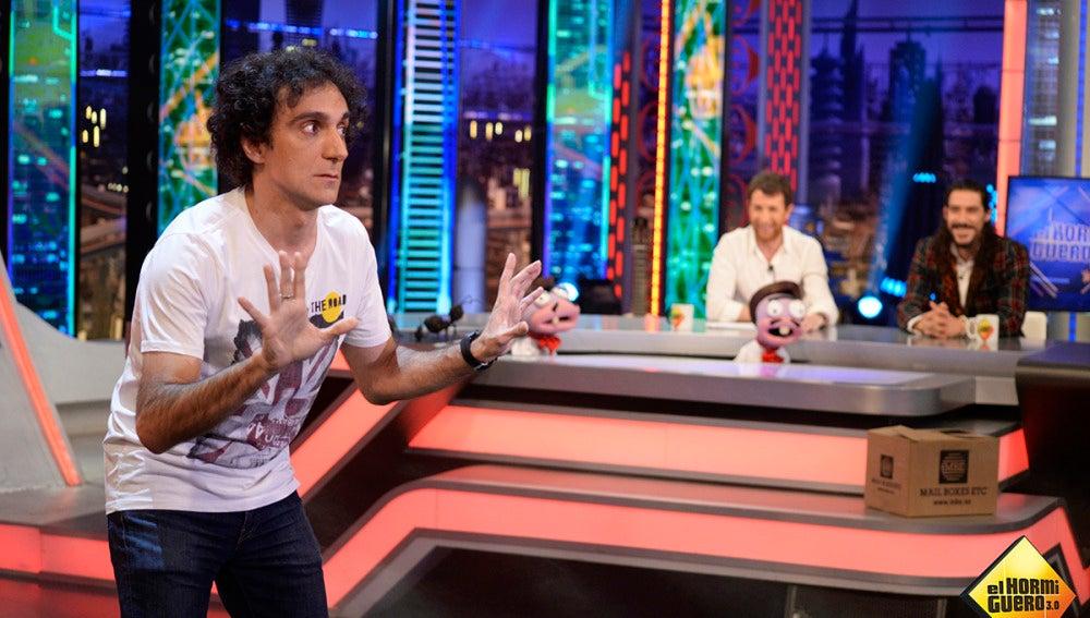 Óscar Jaenada en 'El Hormiguero 3.0'