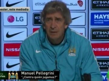 Pellegrini, técnico del Manchester City