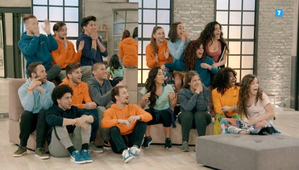 Los dieciséis concursantes convivirán en la academia y competirán en directo en 'Top Dance'