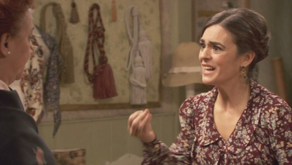 Gracia, recriminando a Dolores