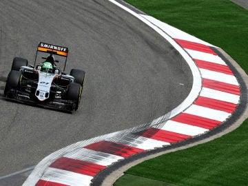 Nico Hulkenberg, en la clasificación del GP de China