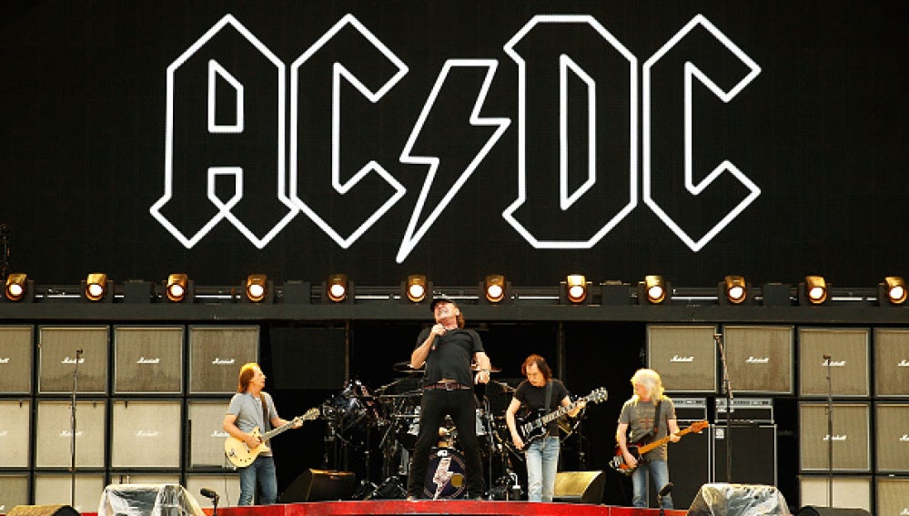 Un concierto de AC/DC