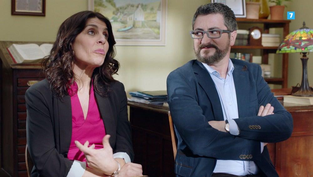 Koldo e Izaskun, a punto de separarse, ejercerán de matrimonio modelo de Carmen e Iñaki