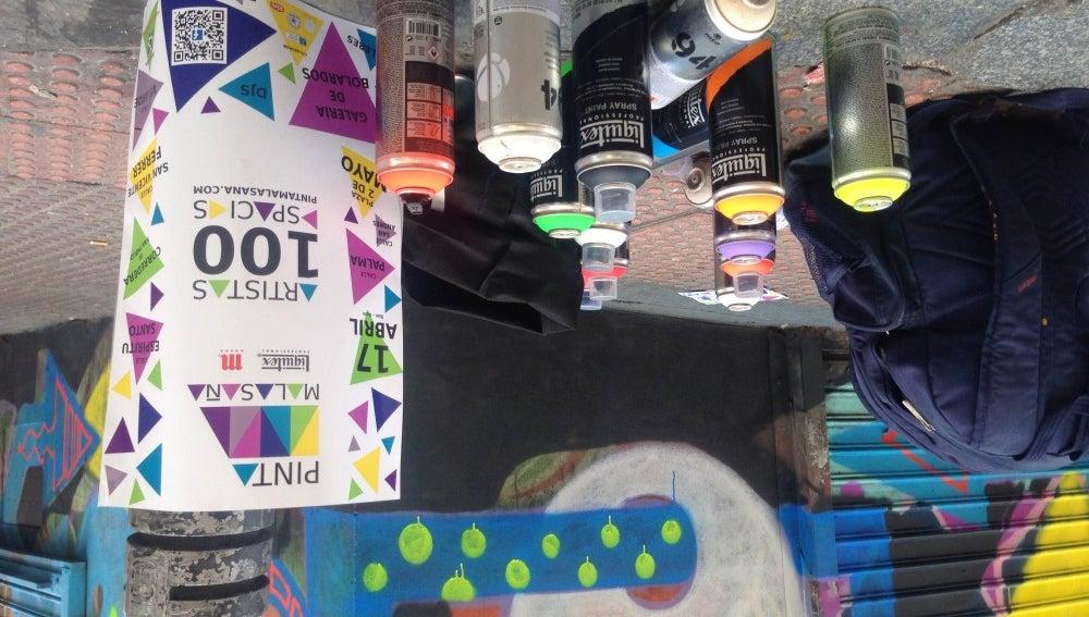 '¡Pinta Malasaña!' un proyecto de arte urbano en el barrio madrileño