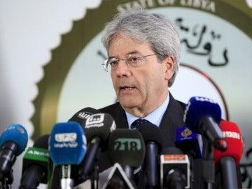 El ministro de Exteriores italiano, Paolo Gentiloni