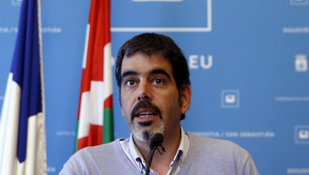 El alcalde de San Sebastián, Eneko Goia