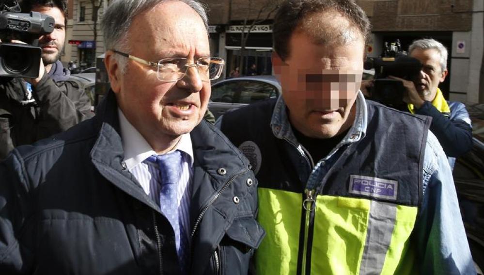 El secretario general del sindicato Manos Limpias
