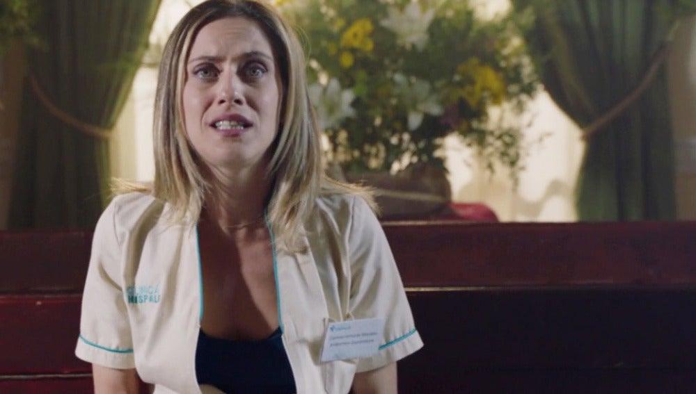"""Carmen se confiesa: """"¿Le digo a Iñaki que me he acostado con Rober?"""""""