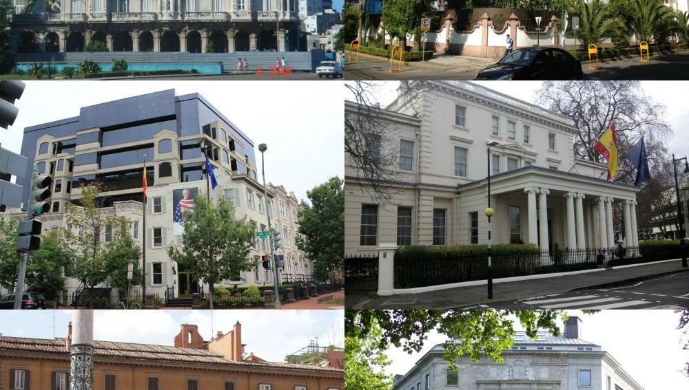 Embajadas del mundo