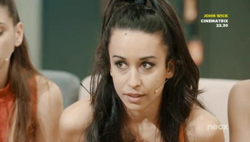 Eva Espejo en la academia de 'Top Dance'