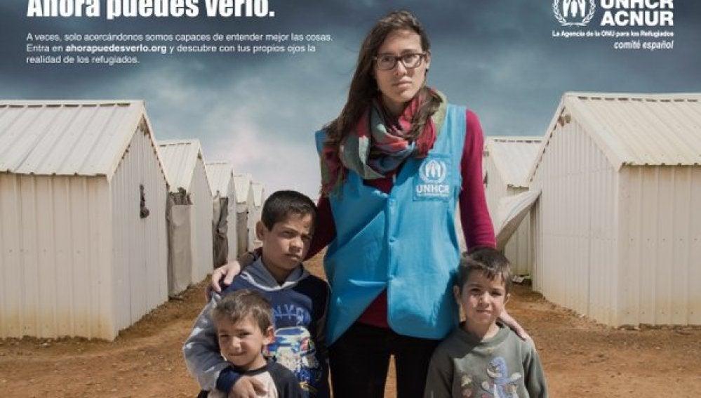 La campaña 'Ahora puedes verlo' permite descubrir la realidad de los refugiados