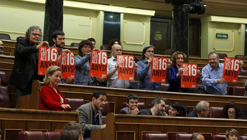 ERC pide bajar de 18 a 16 años la edad mínima con derecho a voto