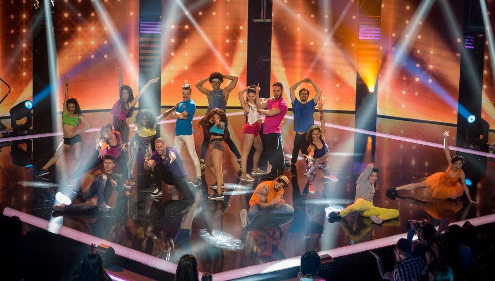 Primera gala en directo de 'Top Dance'